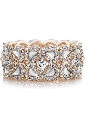 De Beers Rose and Diamond Enchanted Lotus Ring