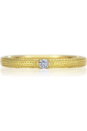 De Beers Gold and Diamond Azulea Ring
