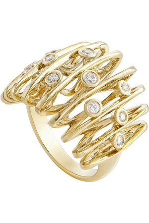 Hstern Yellow and Diamond Silk by Ring