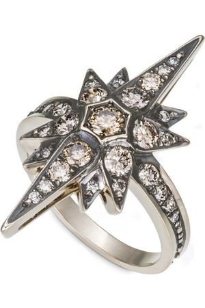 Hstern Noble and Diamond Stars Ring