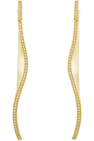 Hstern Yellow and Diamond Signature HS Earrings