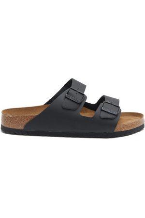 Birkenstock Men Sandals - Arizona Two-strap Leather Slides - Mens