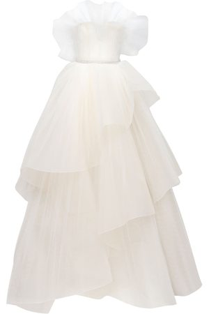 GEORGES HOBEIKA Tulle Meringue Dress