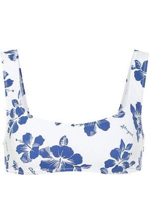 Solid The Elle floral bikini top