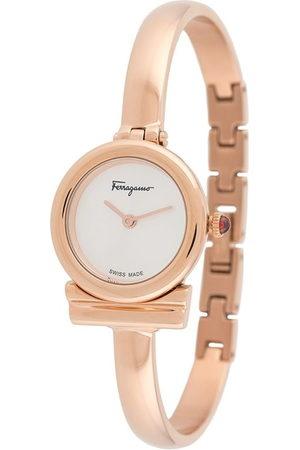 Salvatore Ferragamo Women Watches - Gancini bangle watch