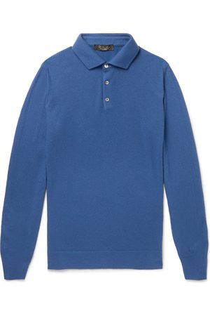 Loro Piana Slim-fit Baby Cashmere Polo Shirt