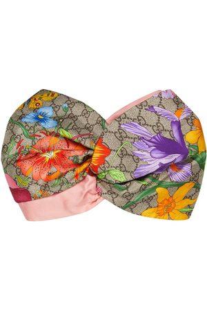 Gucci Women Headbands - GG flora headband - Neutrals