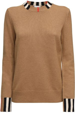 Burberry Women Jumpers - Eyre Cashmere Knit Sweater