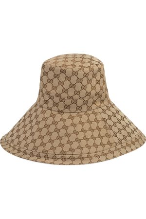 Gucci GG canvas wide brim hat