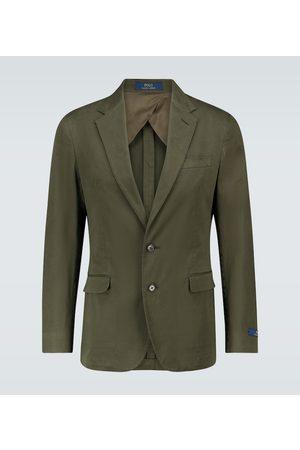 Polo Ralph Lauren Single-breasted cotton blazer