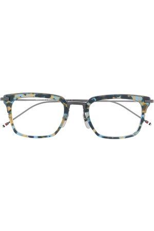 Thom Browne Eyewear Sunglasses - Wayfarer square-frame glasses
