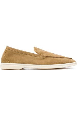 Scarosso Men Loafers - Almond toe loafers - Neutrals