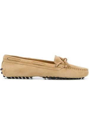 Scarosso Women Loafers - Guilia driving loafers - Neutrals