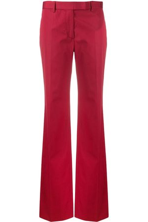 Gianfranco Ferré Women Wide Leg Trousers - 1990s high-waisted flared trousers