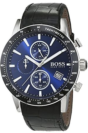 HUGO BOSS Men's Chronograph Quartz Watch with Leather Strap – 1513391