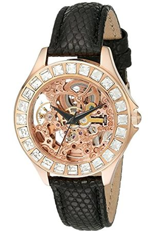 Burgmeister Merida Women's Automatic Watch with Dial Analogue Display and Leather Strap BM520-302