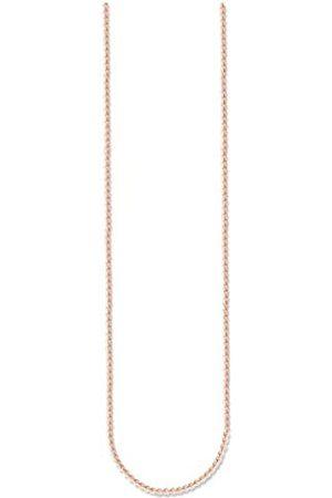 Thomas Sabo Unisex-Necklace Glam & Soul 925 Sterling Silver 18k rose plating Length from 38 to 42 cm KE1106-415-12-L42v