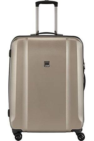 "Titan Valise trolley ""Xenon Deluxe"" avec 4 roues champagne Suitcase, 67 cm"