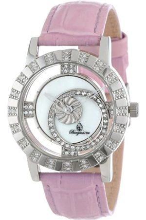 Burgmeister Ladies Quartz Watch with Mother Of Pearl Dial Analogue Display and Leather Strap BM517-118