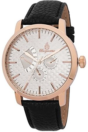 Burgmeister Men's Quartz Watch with Dial Analogue Display and Leather Bracelet BM219-312