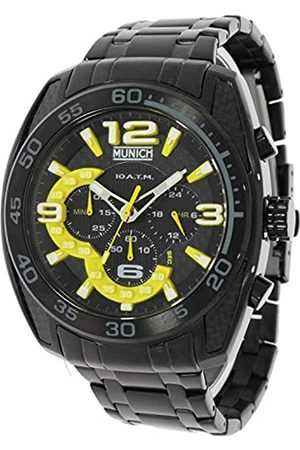 Munich Unisex Adult Analogue Quartz Watch with Stainless Steel Strap MU+134.1C