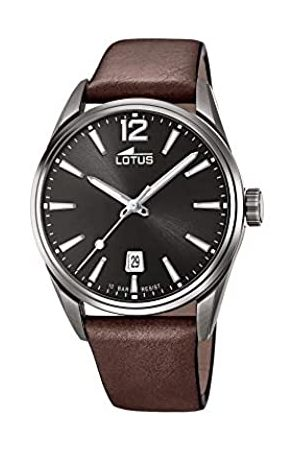 Lotus Mens Analogue Quartz Watch with Leather Strap 18685/1