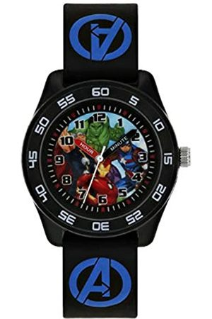 The Avengers Avengers Boys Analogue Quartz Watch with Rubber Strap AVG9007