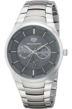 Wellington Men's Quartz Watch with Dial Analogue Display and Stainless Steel Bracelet WN601-191
