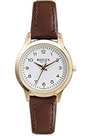 Reflex Womens Analogue Classic Quartz Watch with PU Strap REF0041