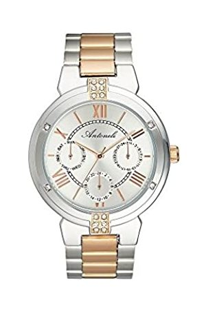 Antoneli Unisex Adult Analogue Quartz Watch with Stainless Steel Strap ANT2056