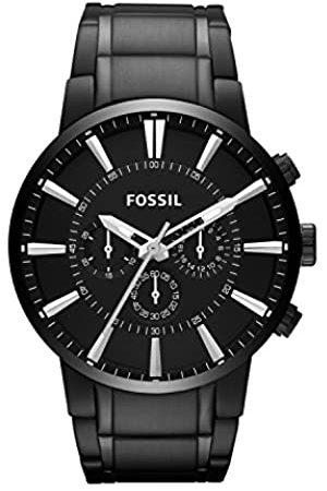 Fossil Million Dollar Chronograph Stainless Steel Watch – Analogue Men's Watch with Quartz Movements - Stopwatch and Timer Functionality