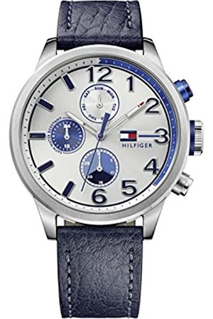 Tommy Hilfiger Men's Multi dial Quartz Watch with Leather Strap 1791240