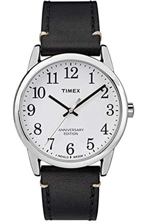 Timex Mens Analogue Classic Quartz Watch with Leather Strap TW2R35700