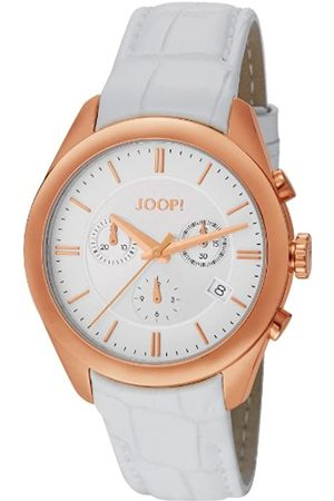 Joop! Joop Aspire Chrono Women's Quartz Watch with Dial Chronograph Display and Leather Strap JP101042F03