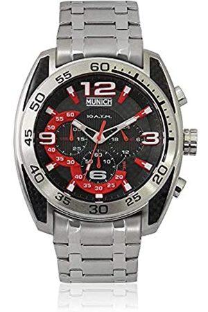 Munich Unisex Adult Analogue Quartz Watch with Stainless Steel Strap MU+135.1A