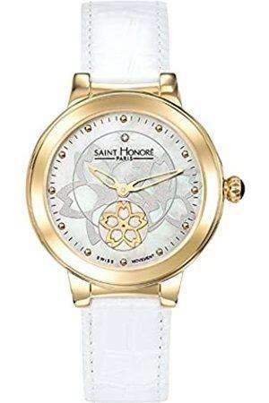 Saint Honoré Women's Analogue Quartz Watch with Leather Strap 7620223FYID