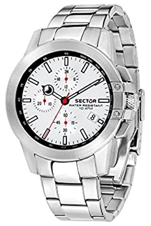 Sector Mens Chronograph Quartz Watch with Stainless Steel Strap R3273797003