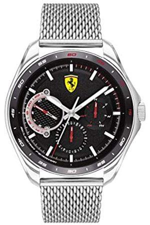 Scuderia Ferrari Men's Analogue Quartz Watch with Stainless Steel Strap 0830684