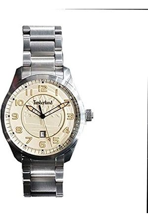 Timberland Mens Analogue Quartz Watch with Stainless Steel Strap 4895148698341