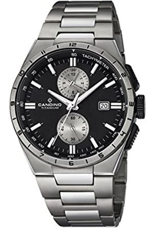 Candino Mens Chronograph Quartz Watch with Titanium Strap C4603/4