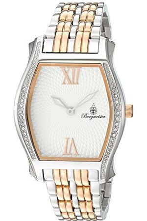 Burgmeister Women's Quartz Watch with Dial Analogue Display and Rose Stainless Steel Bracelet BM806-917