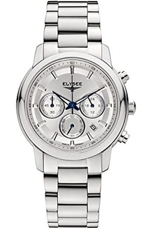ELYSEE Unisex Adult Analogue Quartz Watch with Stainless Steel Strap 11015