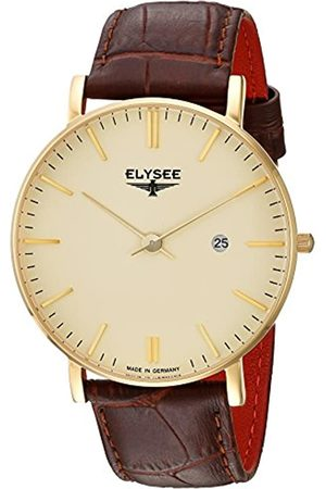 ELYSEE Unisex Adult Analogue Quartz Watch with Leather Strap 98003.0
