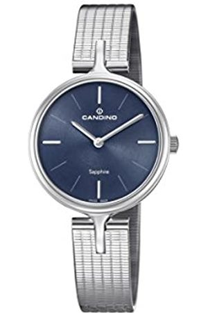 Candino Womens Analogue Classic Quartz Watch with Stainless Steel Strap C4641/2