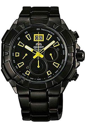 Orient Men's Chronograph Quartz Watch with Stainless Steel Strap FTV00007B0