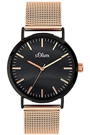 s.Oliver Women's Analogue Quartz Watch with Stainless Steel Strap SO-3668-MQ