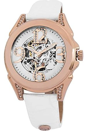 Carlo Monti CM801-386 Modica, Ladies watch, Analogue display, Automatic with Citizen Movement - Water resistant, Stylish leather strap