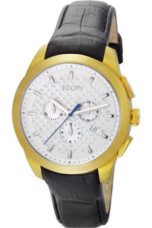 JOOP! Joop Legend Chrono Men's Quartz Watch with Dial Chronograph Display and Leather Strap JP101071F08