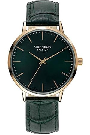 ORPHELIA Fashion Mens Analogue Watch Victorian with Leather Strap