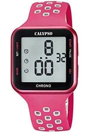 Calypso Unisex Adult Digital Quartz Watch with Plastic Strap K5748/2